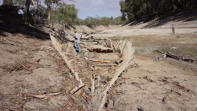 The archaeological remains provide a tangible link to this colourful era of riverboat activity on the Darling River