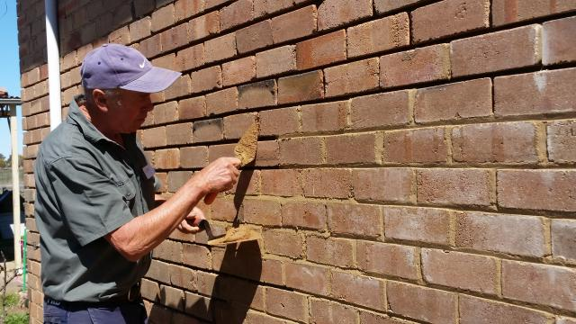 Brick pointing workshop Credit Orange City Council