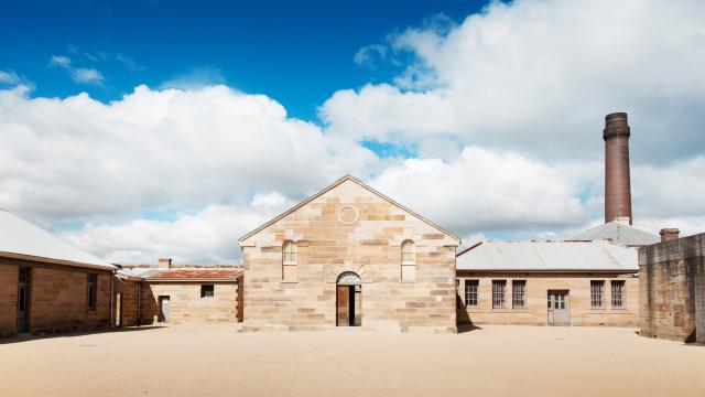 Cockatoo Island Convict Barracks Courtyard Credit Stephen Fabling 2013